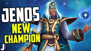 JENOS PALADINS NEW CHAMPION - Aggressive Support with Kamehameha Ultimate!