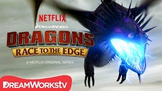 An Electrifying Battle | DRAGONS: RACE TO THE EDGE