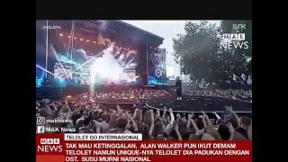 "DJ Alan Walker ""Om Telolet Om"" Versi Susu Murni Nasional"