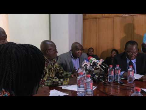 Visit by the Hon. Minister for interior to the Ghana Refugee Board.