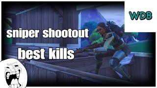 Fortnite my best sniper shootout kills