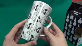 подарочная чашка Черно-белые кошки Topchoice 0,5 литра