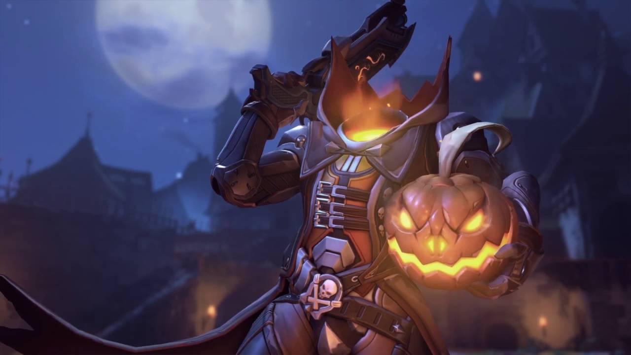 overwatch halloween terror main menu screens