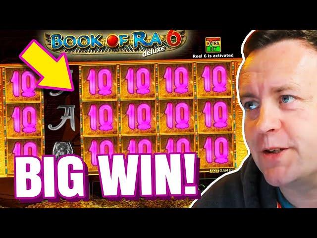 *FINALLY A BIG CASHOUT* Big Wins on Book of Ra !!