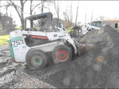 Bobcat 753 For Sale Youtube