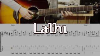(Weird Genius ft. Sara Fajira) Lathi - Fingerstyle Guitar TABS | Josephine Alexandra