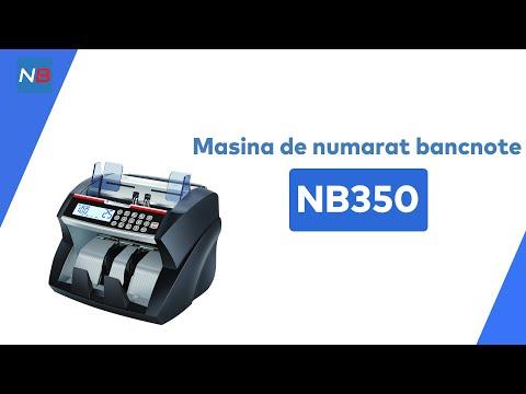 Masina de numarat bancnote bani NB350