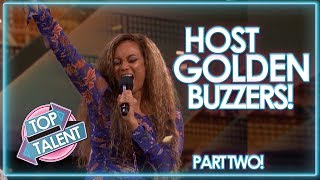 PRESENTER GOLDEN BUZZERS On America and Britain's Got Talent! Part Two | Top Talent