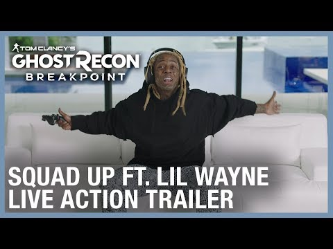 Big Daddy - Check Out Lil Wayne's Ghost Recon Break point Trailer