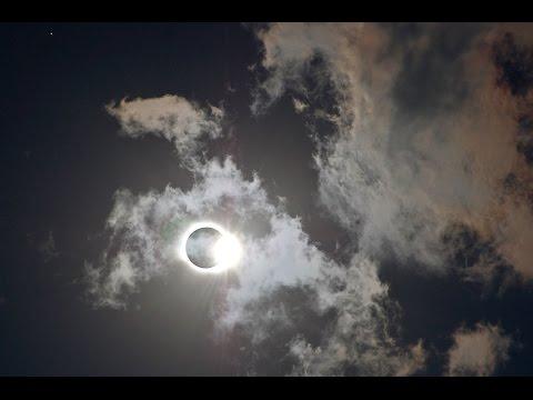 Airplane Eclipse Russia Murmansk