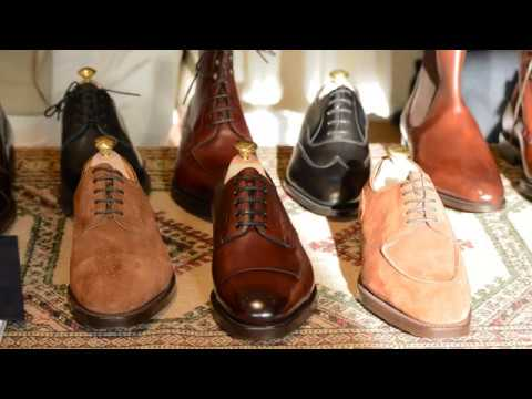 Edward Green Factory Visit and Interview with Euan Denholm - The World of Shoes