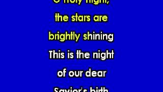 O Holy Night for Karaoke