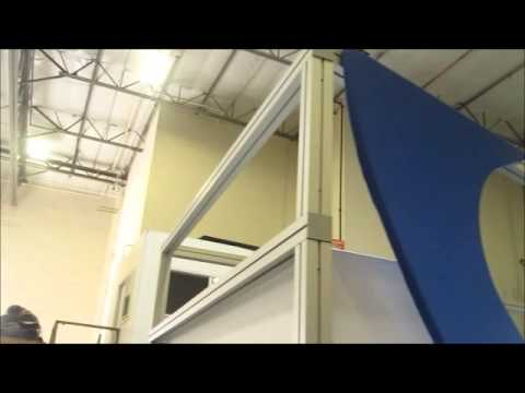 Used Trade Show Booth : Used trade show booths foldable display panel for trade show