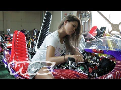旧車の祭典でコール最強を目指すバイク女子 - Q-1 GRAND PRIX EP01