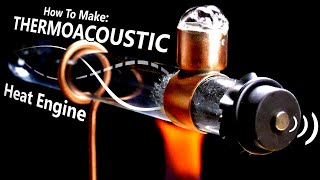 Acoustic Energy & Surprising Ways To Harness It (Intro To Thermoacoustics)