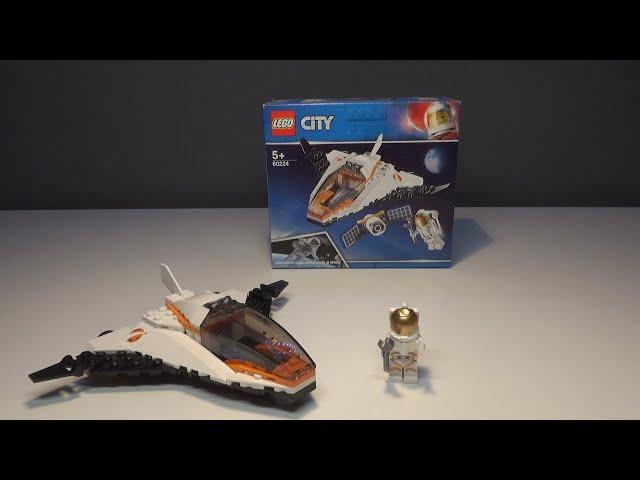 LEGO® City Satelliten-Wartungsmission Review (60224)|Brick on Block|
