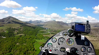 Snowdon, Moel Famau and the Great Orme by Gyrocopter