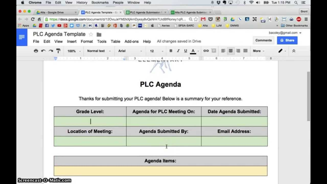 Discussed / create goals for next plc entire group 5 minutes we will talk our new writing block, procedures and our weekly writing prompts. Autocrat Google Sheets Add On Tutorial Video Youtube
