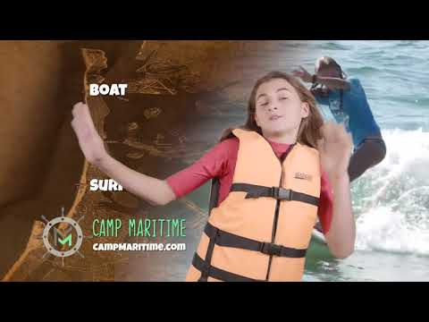 Camp Maritime Commercial | NYC's First & Only All Water Adventure Camp