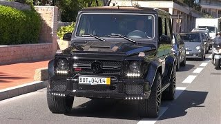 BRABUS 850 6.0 Biturbo Widestar - Exhaust Sounds!