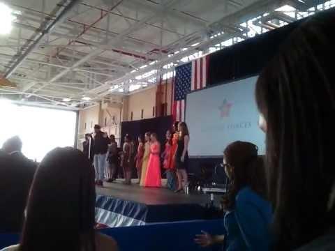 Michelle Obama doing dance routine part 2
