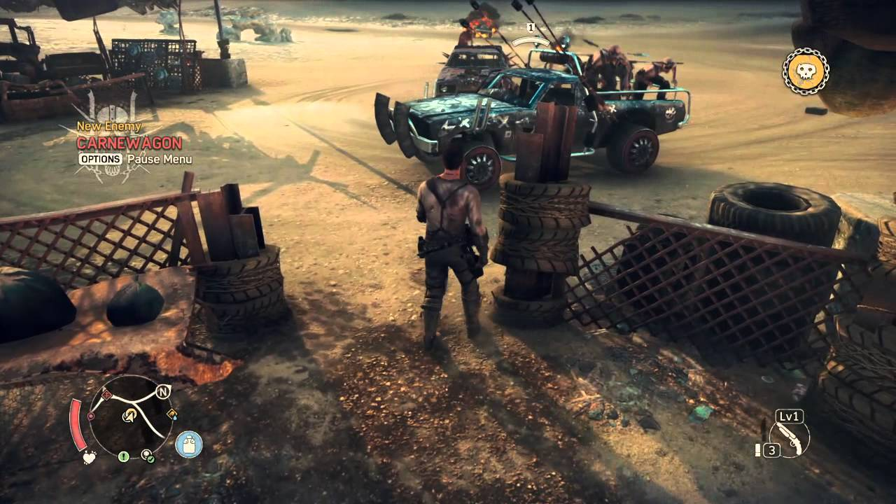mad max game war
