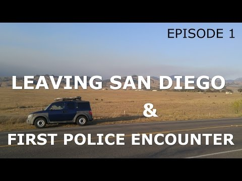 Van Life First Experience with Police
