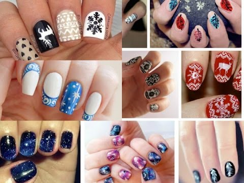Trendy Winter Nail Art Designs! Fashion ideas! - YouTube