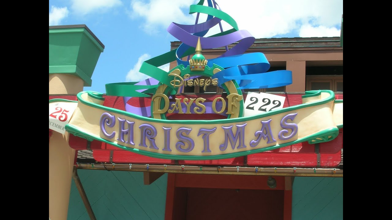 Disney 39 s days of christmas store at downtown disney walt for The christmas store