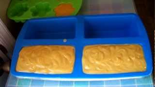 Making Coconut Milk & Carrot Soap Part 2