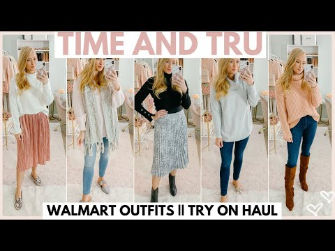 WALMART HAUL | WINTER OUTFIT IDEAS WITH WALMART CLOTHING 2019 | Amanda John