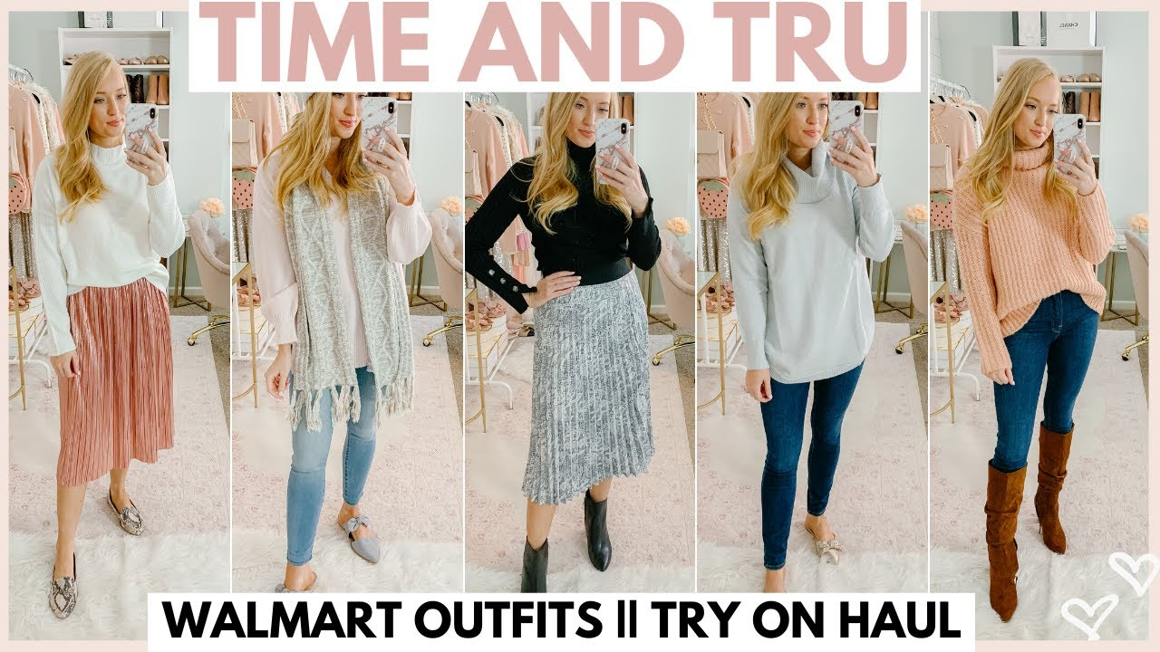 [VIDEO] - WALMART HAUL | WINTER OUTFIT IDEAS WITH WALMART CLOTHING 2019 | Amanda John 8