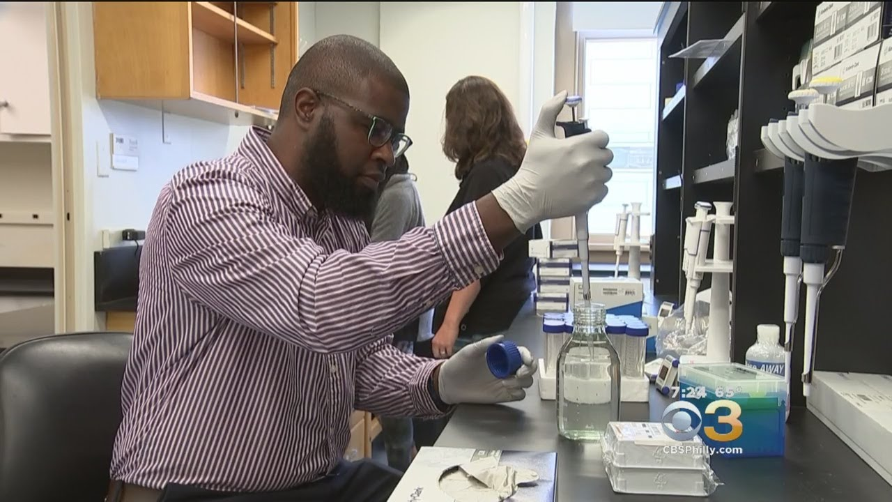 From Central High School To His Own Lab..Man treating better care for patients