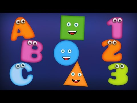 ABC Song | Numbers Song | Colors Song | Shapes Song