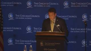 Greg Rickford, Canadian Natural Resources Minister, on US-Canada Energy