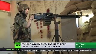 From lion tamer to female fighter: Combating terrorists in Syria
