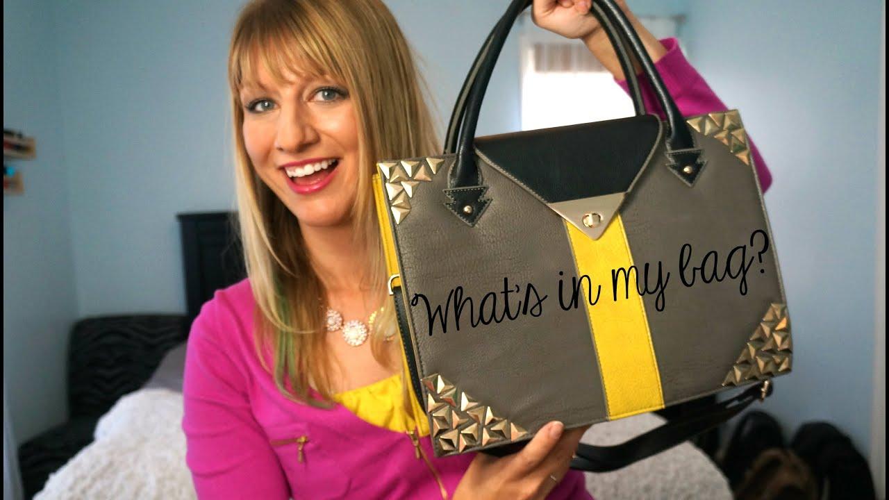 What S In My Bag Handbag Heaven