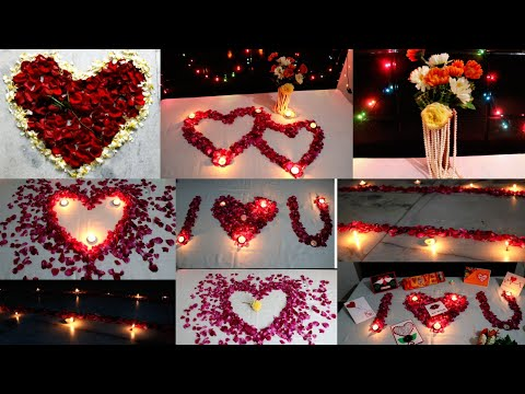 Romantic Room Decoration For Valentine's Day| 7 Romantic Bedroom Decorating Ideas|Room Decor Ideas