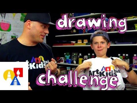 Both Handed Drawing Challenge + SYA!