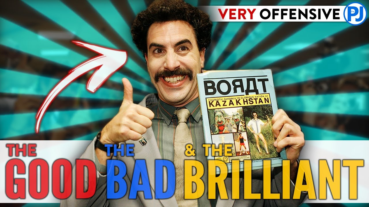 BORAT! Most Offensive Movie of all Time - the Good, the Bad & the Brilliant - PJ Explained