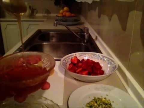 Super Simple Fruit Glaze