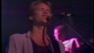 Sting - If you love somebody set them free (live)