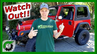 Buying a Jeep?  Important Jeep Buying Tips