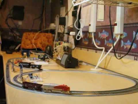 MicroController RFID Train Control
