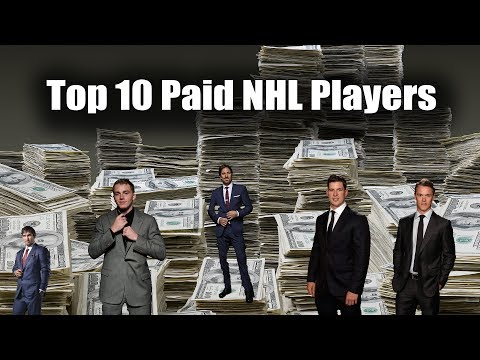 Top 10 paid NHL Players 2016 - 2017