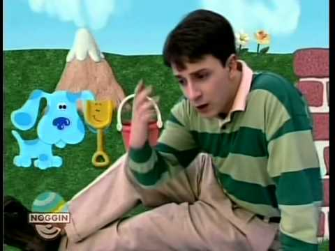 Blue's Clues part 1 Blue's Story Time - YouTube