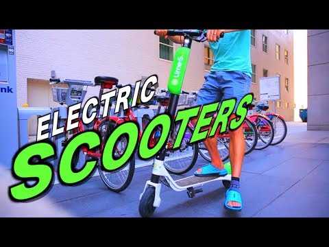 Will Electric Scooters take over American Cities?