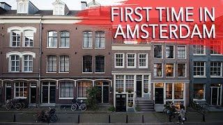 Gambar cover Amsterdam Travel Vlog | Arriving in Amsterdam, Airbnb check-in, & exploring the canals