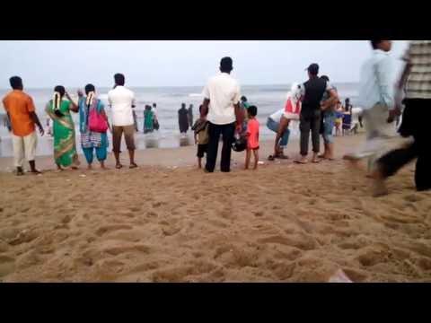 Chennai Marine Beach 2016