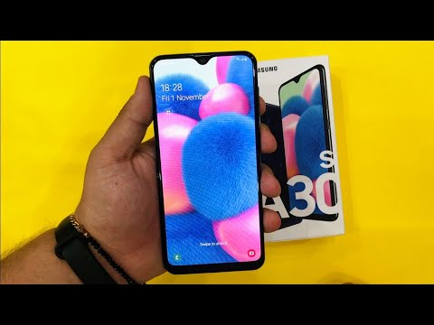 Samsung Galaxy A30s Unboxing